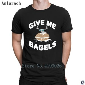 Dame Bagels Pilz-E de la ardilla camisetas 2018 camiseta superior divertido informal camiseta para los hombres los diseños de época ropa ajustada