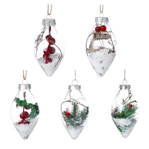Christmas Tree Drop Ornaments Home Hanging Xmas Pendant Ball Christmas Decorations For Home 2018 Christmas Decoration Q3