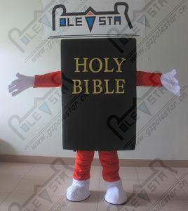 HOLY BIBBLE mascot costumes custom black book costumes POLE STAR MASCOT COSTUMES