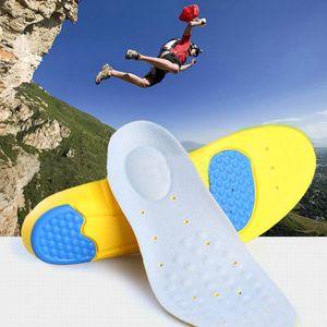 1Pair Memory Foam Orthotics 아치 통증 완화 지원 신발 안창 삽입 패드 스포츠 신발 액세서리