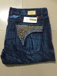 Nouveau Robin Mode Jeans Hommes Célèbre Marque biker Jeans robin designer jeans pour homme déchiré denim Pantalon Pour Hommes Longue Ligne Droite Pantalon Taille: 30-42