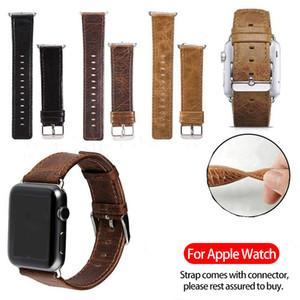 애플 시계 3 2 1 라운드와 스퀘어 꼬리와 사과 시계 밴드 42mm의 38mm 비즈니스 가죽 시계 스트랩