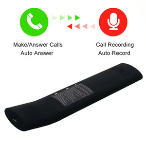 Wholesale 10pcs Portable Wireless Bluetooth Mobile Call Recorder Receiver Auto Answer and Record for iPhone Phone Conversation Recording
