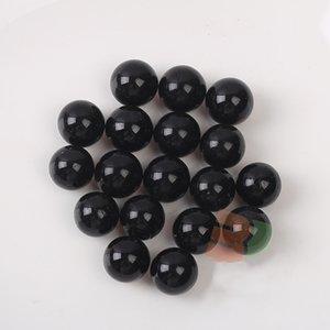 10PCS 16mm di vetro Marmi Balls Cancella Pinball macchina Charms casa Fish Tank Decorazione Vaso Acquario Giocattoli per i bambini
