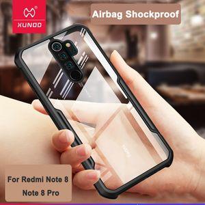 Para la cubierta del caso Airbag Volver a prueba de golpes Xiaomi MI9 Lite caja del teléfono XUNDD de lujo en redmi Nota 8 Pro Nota 9s Shell del teléfono envío de la gota