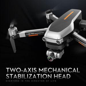 L109 Pro 4K Kamera 5G WiFi Drone, Simülatörler, 2 Eksenli Gimbal Anti-Shake, Fırçasız Motor, GPS Optik Akış Konumu, Akıllı Takip, VS SG906PRO F11, 2-2