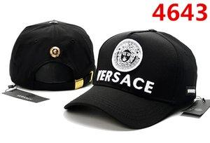 sombreros Gorra bordado de lujo Icono ajustable del sombrero 10 del color detrás de las letras D2 marca sombrero de lujo