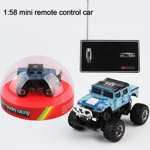 1:58 8 Colors 4CH Mini Remote Control RC Racing Car Buggy SUV Truck Toy Micro Rechargeable Car Toys Gift For Children HOT SALE
