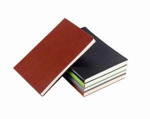 A5 antiga Faux Vintage Notebook capa de couro para o escritório Programação diária de Memo Material Escolar presentes Papelaria Criativa diário Papel Jornal