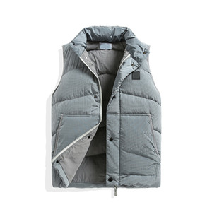 topstoney 2020 New pattern konng gonng New autumn and winter thickened waistcoat fashion brand high version men's Vest