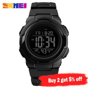 SKMEI Outdoor Sport Watch Top tipo luxuoso da forma Multifuncional 5 Bar Waterproof o relógio Homem Relógios digitais reloj hombre 1423