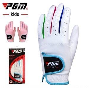 PGM Golf Kinder- und Handschuhe spezielle Anti-Rutsch-Superfaser Handschuhe für Jungen und Mädchen