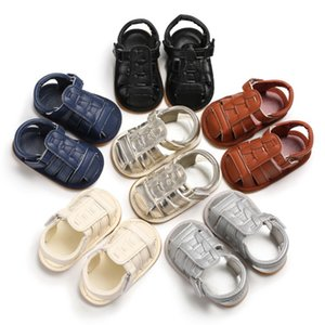 Toddler Baby Boys PU Soft Rubber Sole Shoes Infant Newborn Crib Shoes Kids Baby Summer Sneakers 2020.