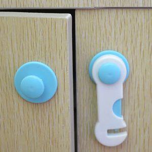 Armoire à tiroirs Boîte enfants enfant Cabinet Armoire Porte de sécurité Réfrigérateur verrouillage Cabinet Locks sangles de sécurité pour bébé
