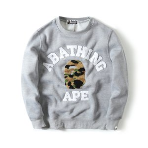 BAPE Famous Brand Mens Designer Hoodie Hombres Mujeres Designer Long Sleeve Jacket Luxury Mens High Quality Casual Sudaderas con capucha
