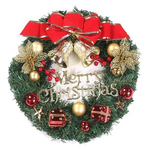Large Artificial Flower Garlands Christmas Wreath XMas inside and outside perfect Deco Christmas for shops, offices, Christmas t