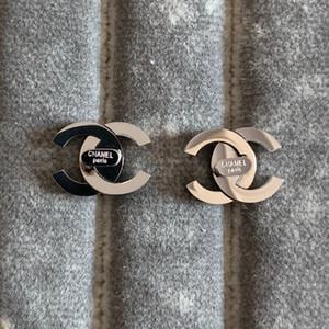 Mai Donna Bambini bianco rosso lettera nero orecchini 316L d'argento in oro 18k in acciaio inox dissolvenza semplice in oro rosa piccoli orecchini grandi medie