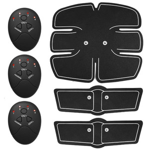 Microelectrónico ABS Muscle Toner Entrenador abdominal Mobile-Gym Smart Fitness EMS Ajuste de arranque Tonificación portátil Quema de grasas Envío rápido