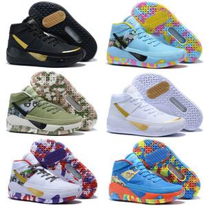 Дешевые Кевин Дюрант KD 13 баскетбольная обувь Kds 13s для мужчин черный синий камуфляж подошвы выведены 2020 новое поступление кроссовки Кроссовки для детей