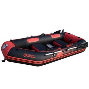 2 Person 200cm aufblasbares Boot PVC Ruder Kajak-Kanu-Raft Schlauchboot Hovercraft Angeln Tauchen Schiff Brett Bottom Beruf