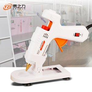 30W / 40W / 80W / 100W Professional High Temp Hot Melt Glue Gun Прививка Ремонт тепловой пушки Пневматическое DIY Инструменты горячий клей