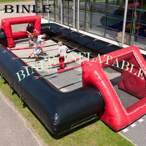 Novely Jogo de Desporto campo inflável futebol de mesa, ao ar livre campo de futebol inflável para venda