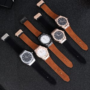 New High Quality Quartz Watch For mens watches Colorful Watches Rubber Strap Sport VK Chronograph wristWatch u1 factory