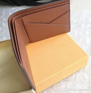 Moda eğlence kısa deri kıvrım çanta M60895 BİRDEN klasik ucuz satış ücretsiz gönderim kısa erkekler kadınlar cüzdan tuvaline
