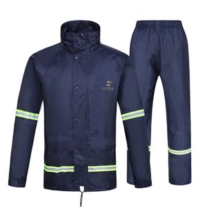 Men Bicycle Waterproof Rain Coat Sets Pants Windbreaker Mens Rain Jacket Raincoat Men Capa De Chuva Infantil Raincoats Men YY368
