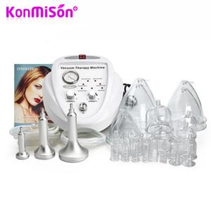KONMISON تشكيل هيئة فراغ العلاج آلة الليمفاوية الصرف الجسم التخسيس تكبير الثدي آلة مع الثدي شفط الكؤوس