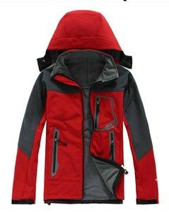 2020 Men Waterproof Breathable Softshell Jacket Men Outdoors Sports Coats women Ski Hiking Windproof Winter Outwear Soft Shell jacket
