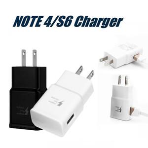 Mur de haute qualité Chargeur pour Samsung S6 Adaptateur Voyage rapide Flash Plug pleine 5V 2A IC de haute qualité Chargeur rapide Speed Non Paquet