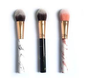 2020 new hot sale Professional Women Marble Brushes Makeup Tool Soft Makeup Brush Cosmetics Foundation Powder Brush