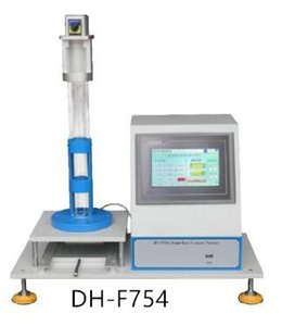 DH-F754 Fornecedor Profissional Bola de Espuma Rebound Tester Com Tela de Toque LCD, ASTM D3574 e ISO 830 de Alta Qualidade FRETE GRÁTIS