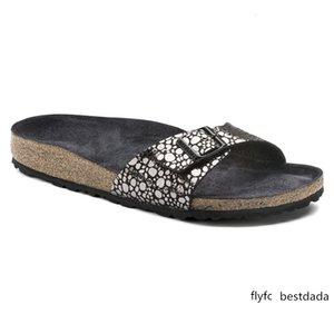 zapatillas de corcho mujeres usan sandalias planas zapatillas casuales Series Madrid