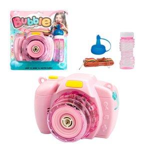 Bubble Camera Electric Bubbles Fun Light Music Children'S Puzzle Electric music bubble camera