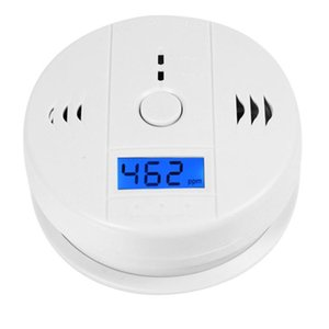 CO Carbon Monoxide Tester Alarm Warning Sensor Detector Gas Fire Poisoning Detectors LCD Display Security Surveillance Safety Alarms