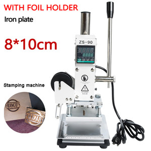 New Hot Foil Stamping Machine Manual Bronzing Machine for PVC Card Leather Paper Embossing Stamping Machine