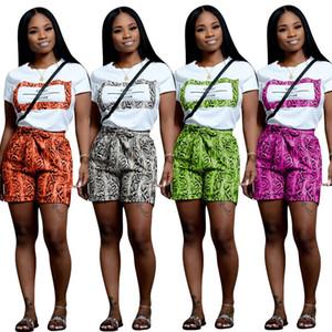 terno de moda esporte casual novo design cinta clássico snake print terno senhoras esportes da mulher 9190