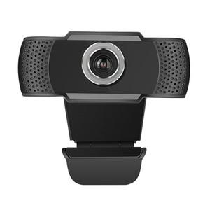 USB Web Camera 1080P HD 2MP Computer Camera Webcams Built-In Sound-تمتص الميكروفون للحواسيب المحمولة مجانا