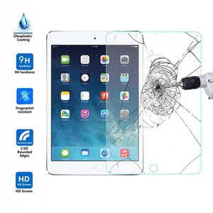 2.5D 9H 0.26mm Tempered Glass Screen Protector For New iPad Air 2 3 4 9.7 inch iPad Pro mini 4