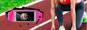 Designer-Sports tasche estivo all'aperto multiuso in esecuzione di telefonia mobile borsa antifurto furtività Marsupi bag