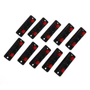 10pcs montaje en PCB 1 fila vertical 4 Posición 4 pin conector de altavoz Terminal