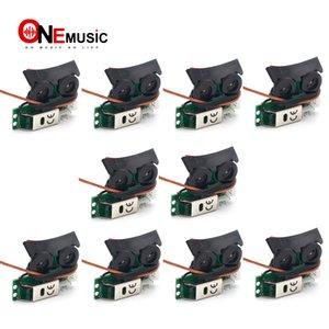 10PCS Sound Hole Undersaddle Pickup Equalizer с бортовой системой предусилителя для акустической гитары
