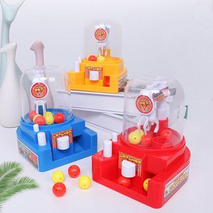 Children's Simulation Small Catching Candy Clips Machine Interactive Manual Mini Educational Toys Boys Girls Desktop Toys