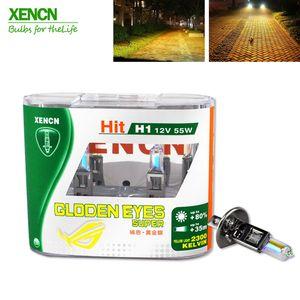 XENCN H1 2300K 12V 55W Golden Eyes Super Yellow Original Line Car Halogen Head Light OEM Quality Auto Lamp Envío gratis 2PCS