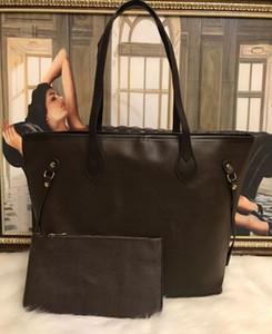 2pcs mis en qulity dames de fleur sacs à main pour femmes Designer classique fourre-tout composite sacs à bandoulière embrayage en cuir PU porte-monnaie femme avec porte-monnaie