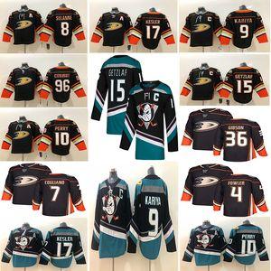 Anaheim Ducks 15 Райан Гетцлаф Джерси 17 Райан Кеслер 8 Teemu Selanne 9 Paul Kariya Hockey Jerseys