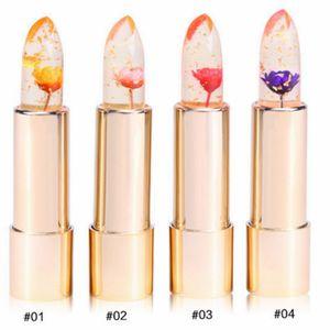 Цветочная матовая помада цветок длительный магический цвет температура изменения цветочной помады с зеркалом 4 цветов RRA1798