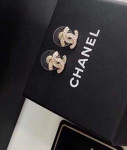 Simples Top Quality Brincos Aço Inoxidável Cor Gold Pearl G Brinco de Ouro Prata Ear Studs Wedding Party Mulheres Para A026 Jóias